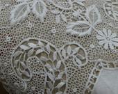 antique lace victorian lace  Lucy raids the attic 1880 english TLC