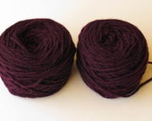 Natural dyed Shetland double knit yarn. 100g in two balls