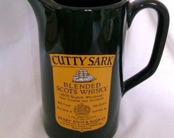 Cutty Sark Scotch Advertising Pitcher by Wade
