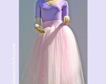 Ballet Tutu - Light pink Rehearsal romantic ballet tutu