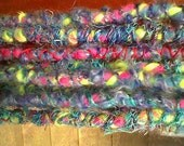 10 double ended wool yarn sparkle dreads