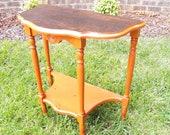 Vintage Accent Table - aka Tennessee Table Go Vols