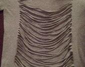 Custom Shirt with Back Cuts