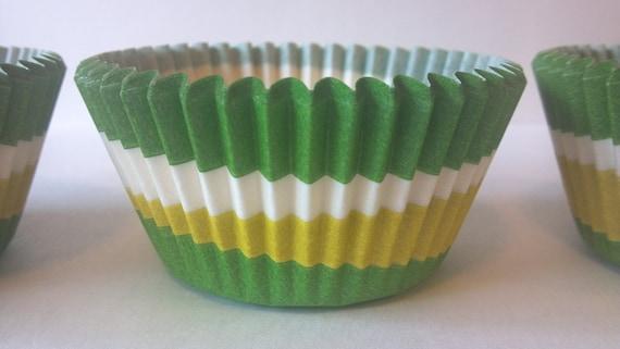 24 Green John Deere Tractor Hat Cap Cupcake Picks Cake Toppers