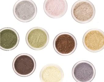 Choose 5 Mineral Eye Shadows - Full 5g Jars