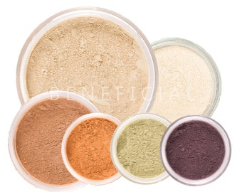 50% off Christmas in July | HARVEST GLOW Mineral Makeup Kit - 8pc Makeup Kit