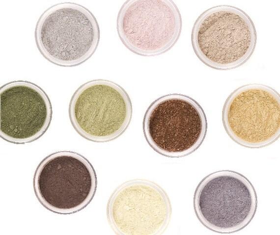 15% OFF - PICK 5 Eyeshadow Mineral Makeup - Full 5g Jars