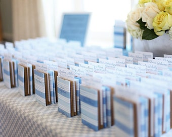 Library Baby Shower Book Favors/Escort Cards - DEPOSIT