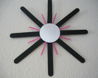 Pink and Black Sun