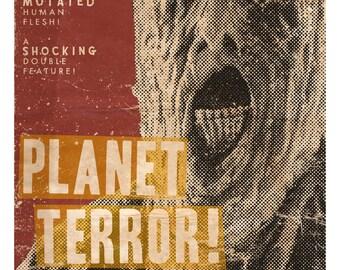 "Planet Terror Poster - 11X17"""