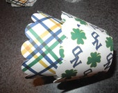Notre Dame Cupcake Wrappers  Set of 12 Fighting Irish