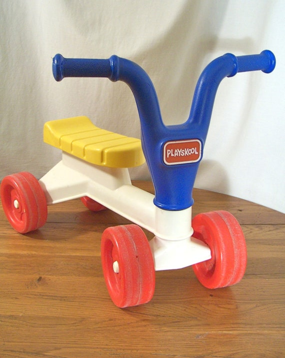 Toddler Riding Toys : Vintage playskool riding toy s baby toddler