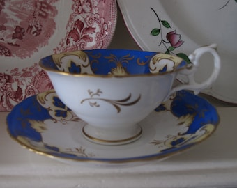 Victorian English Tea cup and saucer.