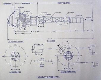 Mercury Capsule Blueprint