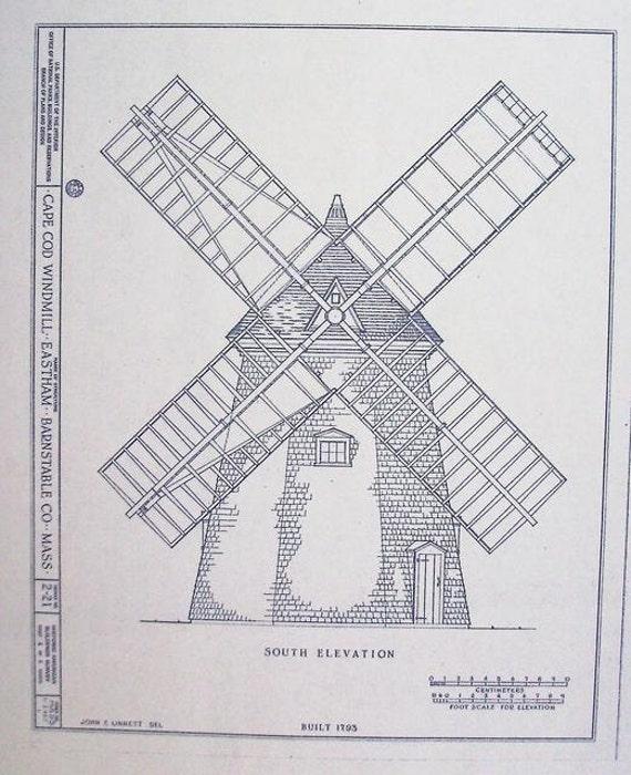 windmill blueprints