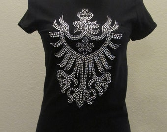 Crest Blinged T-Shirt