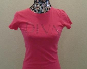 Pink Diva Bling Shirt