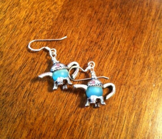 Tibetan Teapot Earrings