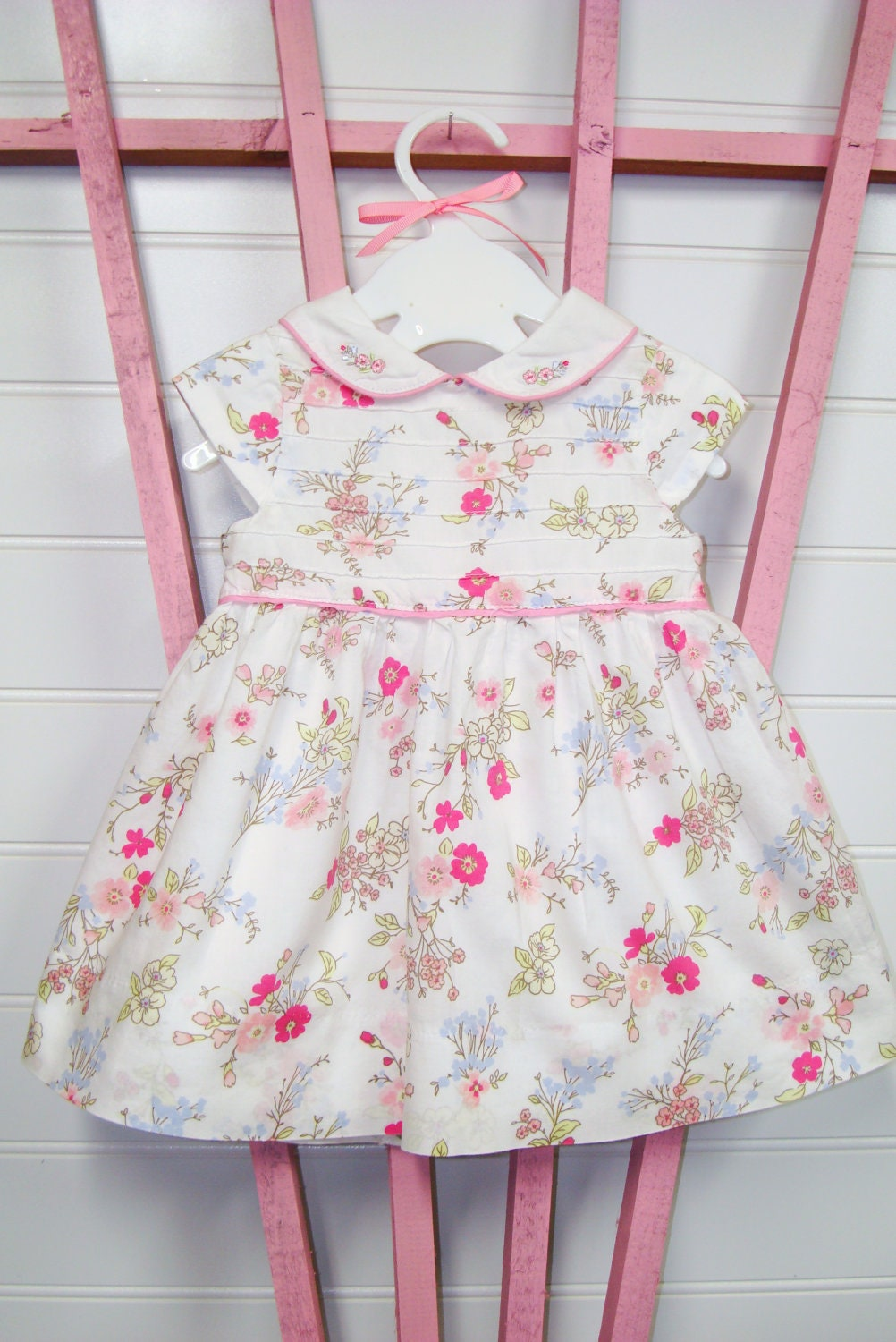 Vintage Baby Clothes Girls Dress