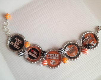 University of Texas Longhorns Bracelet