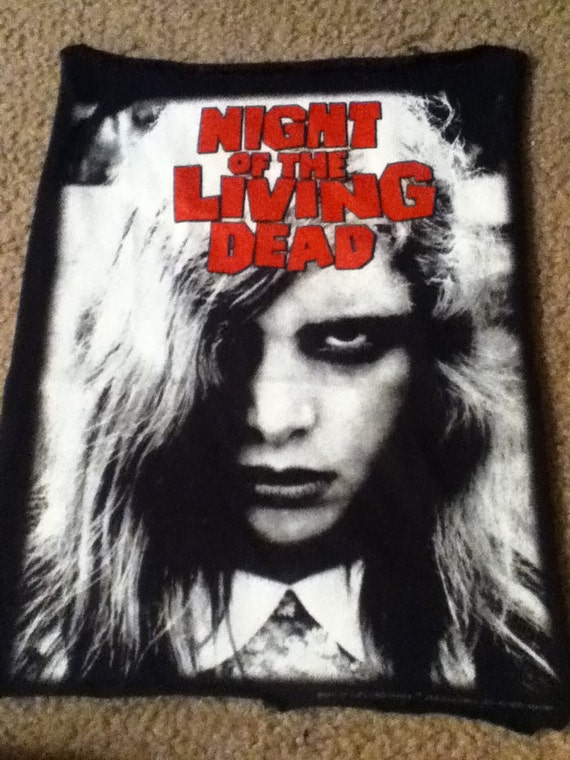 Night of the LIVING DEAD back patch little girl by GipsyBoheme