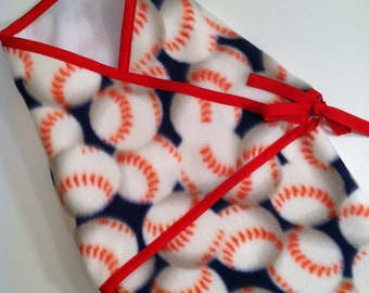 Future All Star Fleece Kimono Swaddle