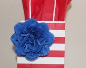 3 Tissue Paper Flowers - Gift Wrap, Gift Bow, Table Decoration, Wedding, Birthday Party, Holiday, Backdrop, Christmas