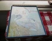 Vintage Swan Scrapbook by Hallmark