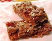 Hildy Favorites - 6 Apple Crumb Pie all-natural breakfast bars (no egg, no dairy, no processed sugar)