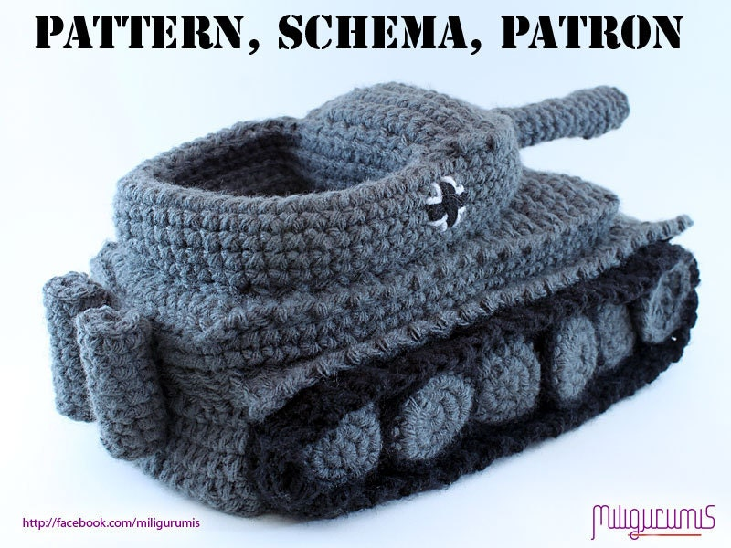 Knitting Pattern For Army Tank Slippers : News und Information   Panzer-Pantoffel Tiger I