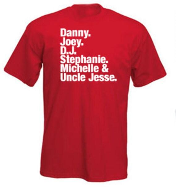 FUNNY TSHIRT funny shirt cool tshirt full house kids shirt humorous tshirt (sweatshirts, hoodies and American apparel also available) SM-5XL