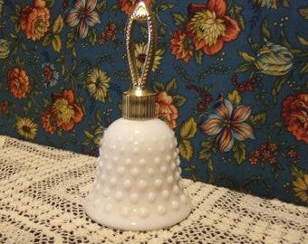 Avon Milk Glass Bell