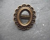 Bronze Brooch Blank