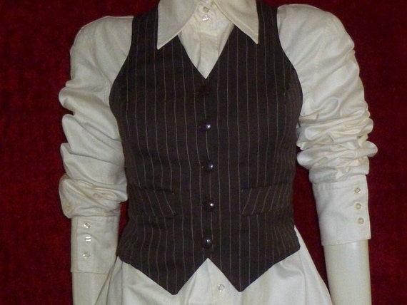 70's vest Katies Sharade