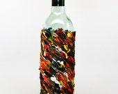Oil Painted Wine Bottle