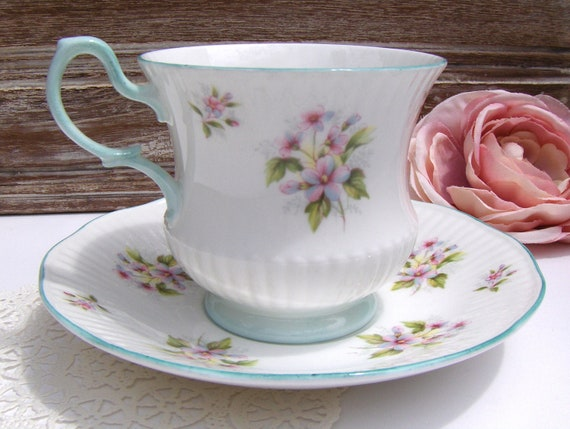 Royal Dover Vintage Teacup & Saucer