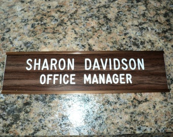 Custom Engraved Wall Sign