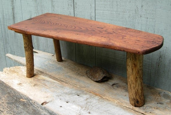 Unique Handcrafted Reclaimed Wooden Table - Driftwood  and Found Wood - Spring Sale