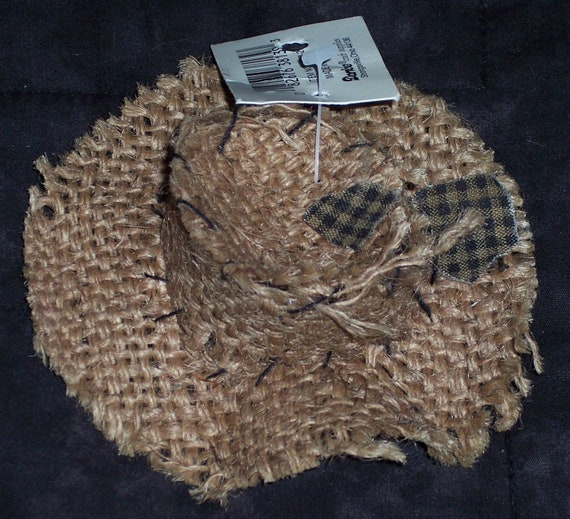 Small Burlap Scarecrow