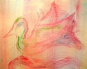 Neon Flight - Original Painting