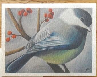 Chickadee Note Card