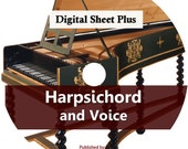 Harpsichord and Voice Sheet Music (DVD)