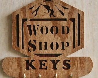 Wood Shop-Key Hanger