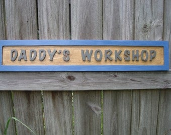 Dad's Workshop Sign - Routed