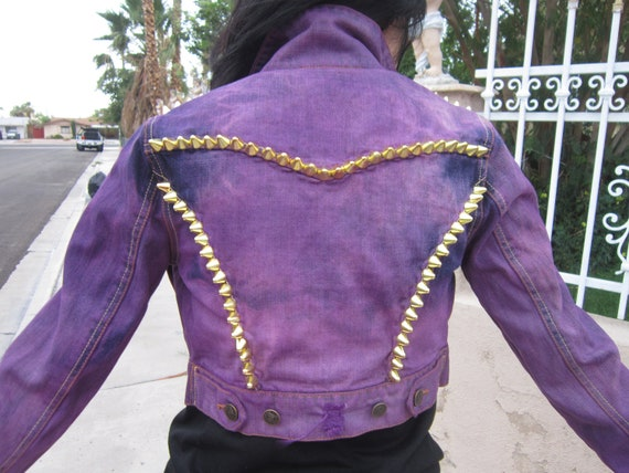 Gold spiked jacket - Reserved for Helen