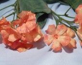 "25"" Orange And Yellow Flower Spray - Lot of 4"