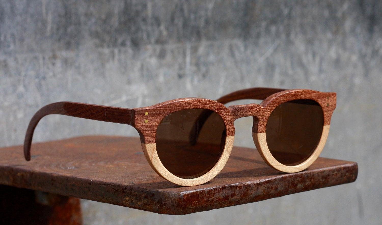 Handmade Glasses Frames : Bodi Glasses Handmade Wooden Sunglasses
