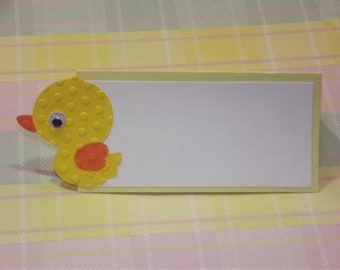 Duck Place Cards