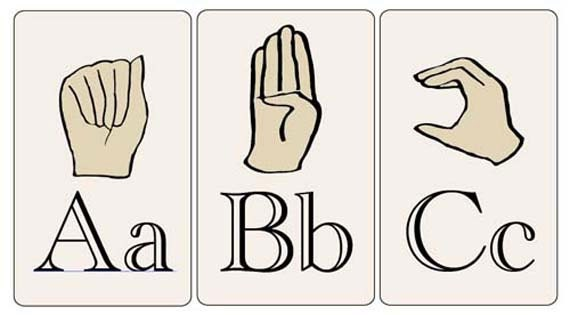 Remarkable image throughout printable sign language flash cards