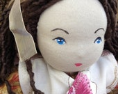 Customized Waldorf Fabric Doll